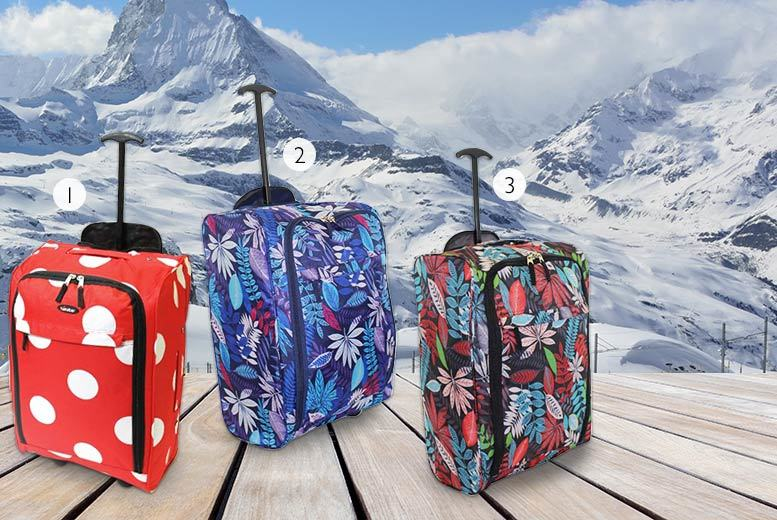 Trendy Look Cabin Approved Wheelie Hand Luggage (Multiple Choice)