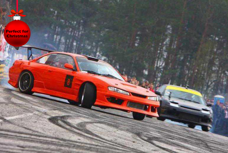 £69 for a drifting experience for 1 person, £135 for 2 people at Flatout Factory, Birmingham - save up to 65%