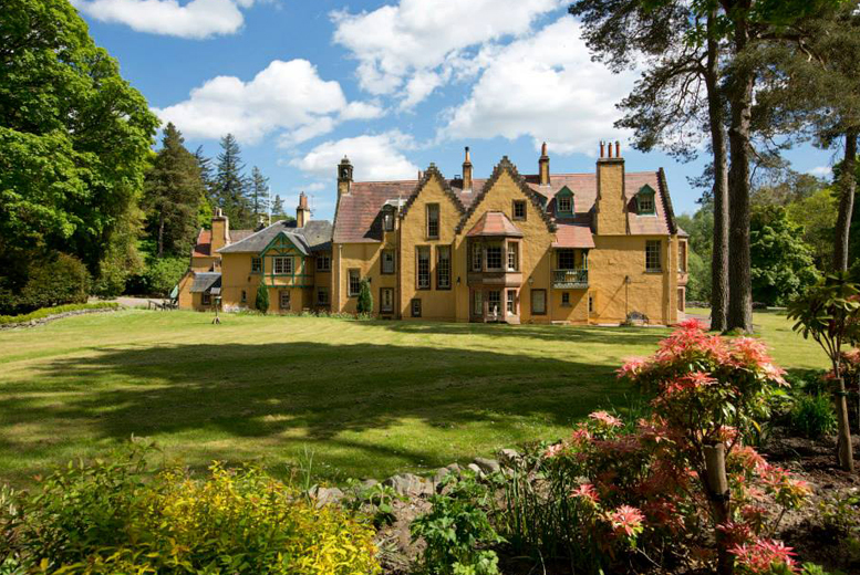 £89 instead of up to £199 (at Leithen Lodge, Peebleshire) for a 2nt country estate break for 2 inc. afternoon tea and liqueur - save up to 55%