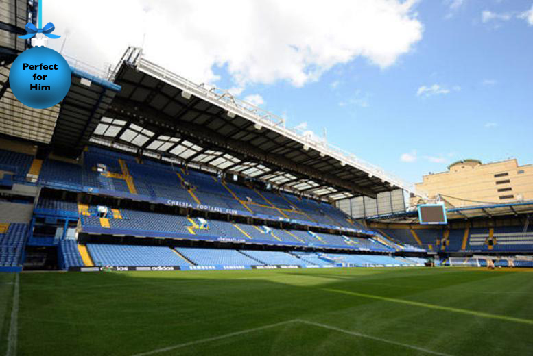 £16 (from Buyagift) instead of £34 for a Chelsea FC Stamford Bridge Stadium tour for 2 - save 53%