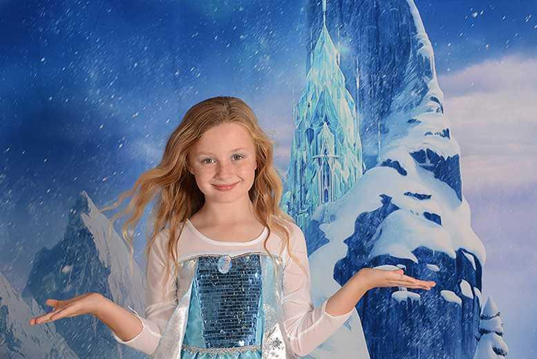 £9 instead of up to £85 for a Frozen-inspired photoshoot for up to 3 children inc. 4 prints with Chris Mullane Photography, Derby - save up to 89%