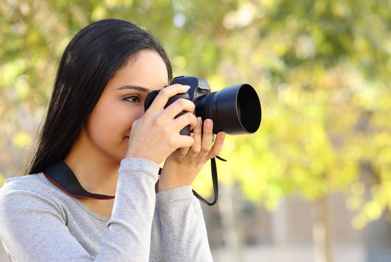 £24 instead of up to £60 for a 1-day beginners photography workshop at DSLR Learning -  save up to 60%