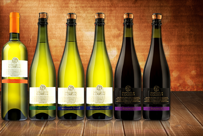 £49 instead of £97.20 for six red or mixed bottles of sparkling wine, or £61.50 inc. delivery from Dionysius - save up to 50%