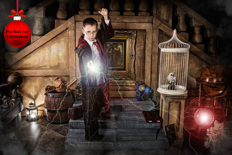 £9 for a Harry potter inspired photoshoot & A4 photo print from Jason Walker Photography, Leicester