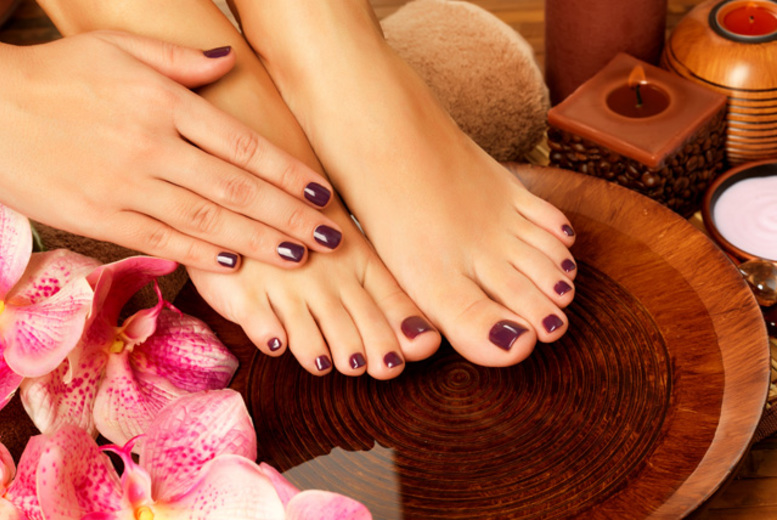 £9 instead of £25 for a Shellac mani or pedi, £16 for both from K Levels Photography, Hair & Beauty Studios - save up to 64%