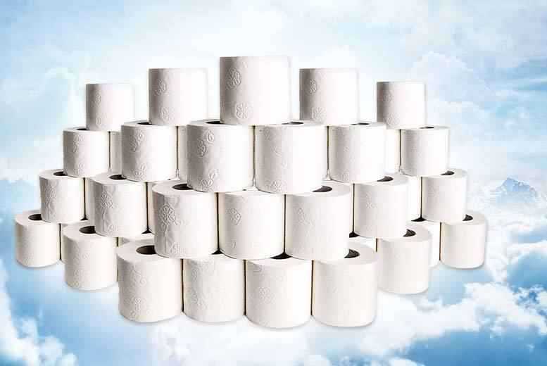 £12.99 instead of £29 (from Some More) for 60 white quilted toilet rolls - save 55%