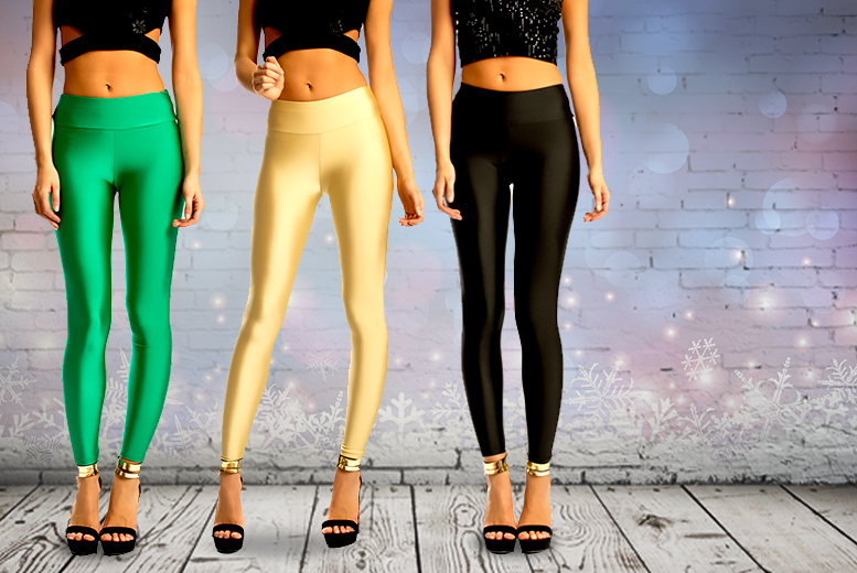 £6 instead of up to £26 (from iKRUSH) for a pair of high-waisted disco pants in a choice of 6 colours - save up to 77%