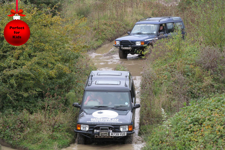 £49 instead of £119 for a junior off-road driving experience with Berkshire 4x4 – put the pedal to the metal and save 59%