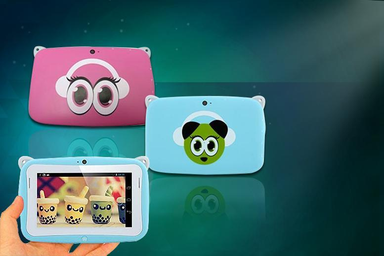 £19.99 instead of £99.99 (from Rock-a-by Baby) for a children's Android panda tablet - choose from 2 colours and save 80%