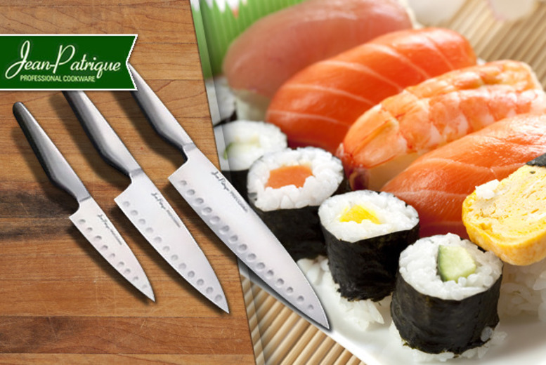 £7.99 instead of £119.95 (from Jean-Patrique) for a 3-piece oriental culinary set - cut to the chase and save 93%