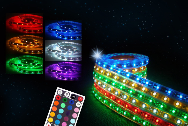 £14.99 instead of £39.99 (from Chimp Electronics) for a remote-controlled LED strip light - save 63%