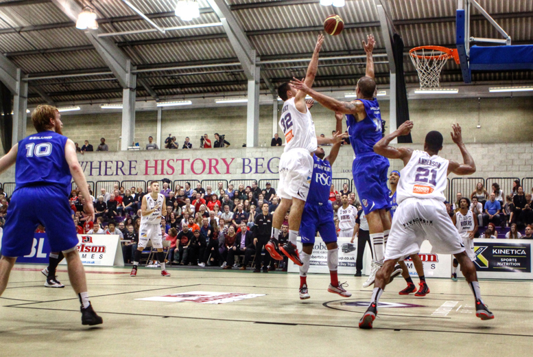 £9 for an adult ticket to see the Leicester Riders, £14 for 2 adult tickets, £18 for a VIP ticket or £19 for a family of 4 - save up to 40%