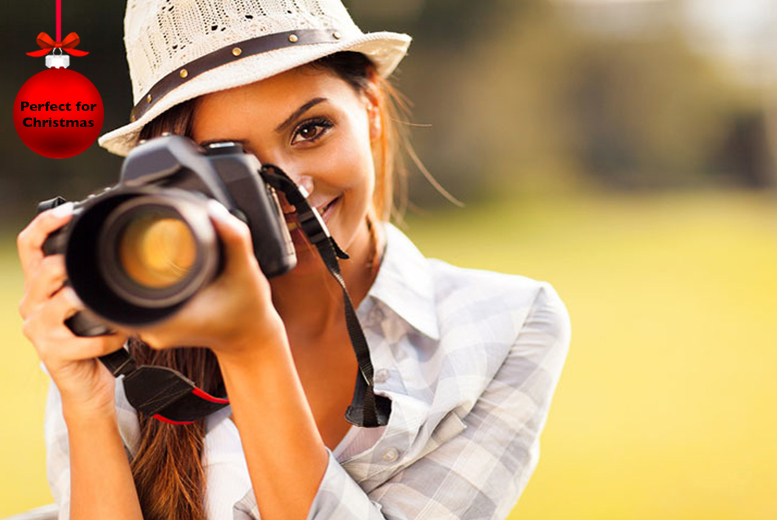 £39 instead of £330 for a digital photography course from Centre of Excellence - save 88%