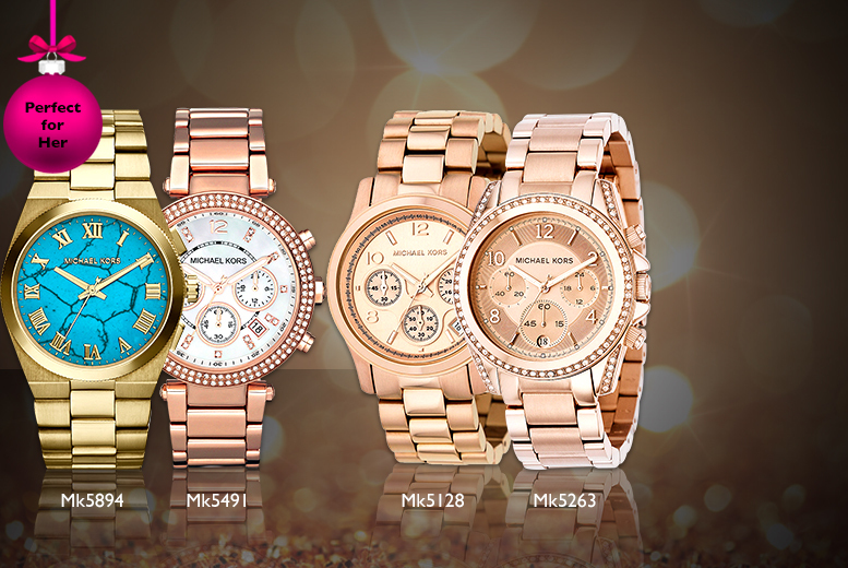 From £115 instead of up to £229 for a choice of 4 Michael Kors watches from Wowcher Direct - save up to 50%