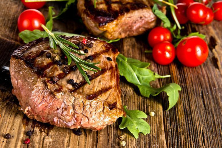 £15 instead of up to £53.20 for a two-course steak meal for 2 inc. a starter each at El Toro, Hammersmith - save up to 72%