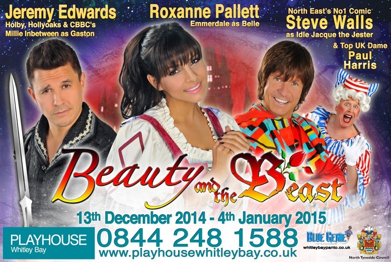 £9 instead of up to £19 for a ticket to see Beauty & the Beast at Playhouse Whitley Bay - save up to 53%