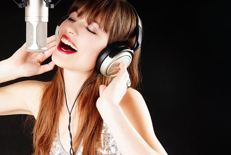 £19 for a 1-hour recording studio experience for 2 people inc. CD with 3 tracks, £29 for 2 hours at Phantom Studios, Bradford - save up to 46%