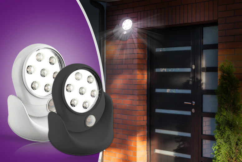 £7.99 instead of £27 (from Zoozio) for a motion activated cordless LED light, £13.99 for two - choose from 2 colours & save up to 70%