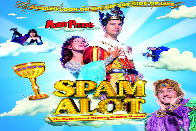 £15 for a Band B ticket to Spamalot at Richmond Theatre, £19.50 for a Band A ticket with ATG Tickets - save up to 37%