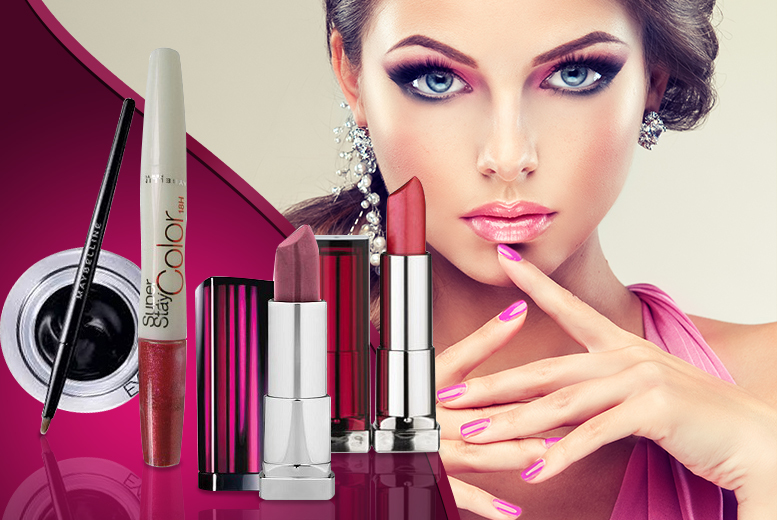 £7.99 instead of £24.99 (from Just She) for a 4-piece Maybelline set, £9.99 for a 5-piece set - save up to 68%