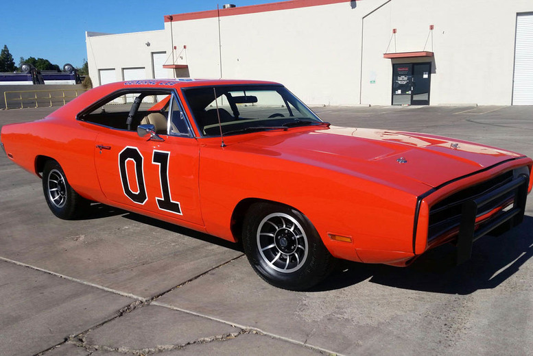 £99 instead of £199.99 for a 'Dukes of Hazzard' Dodge Charger experience at Brands Hatch, Goodwood or Rockingham with Classic American Muscle - save 50%