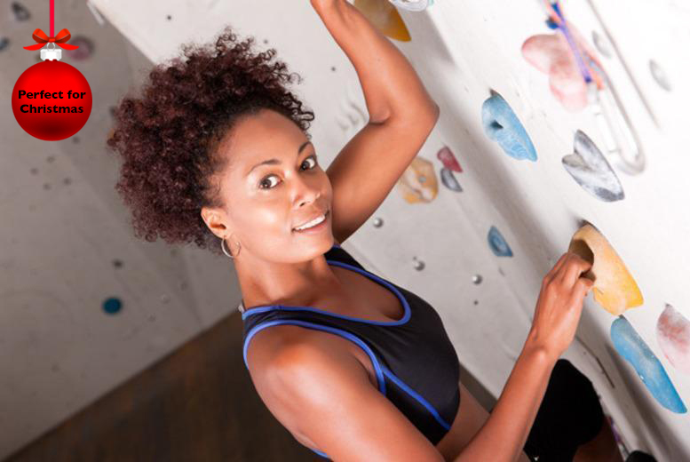 £5 for a full climbing day for 1 inc. equipment & 1-year membership, £9 for 2, £14 for 4 at The Climbing Hangar, Liverpool - save up to 67%