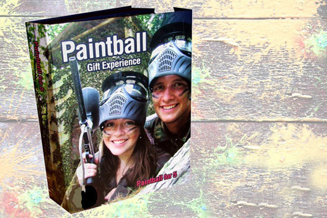 £5 instead of £29.99 (from UKPaintball) for a paintball gift box for up to 5 people - play at one of 60 locations in the UK and save 83%