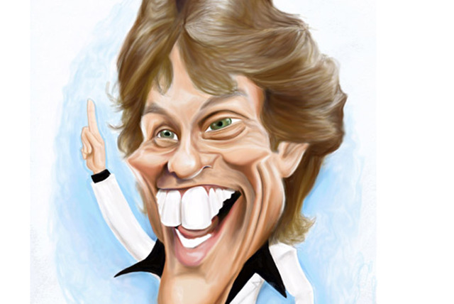 £12.50 (from Mickey Toones) for a single person caricature, or £25 for two people