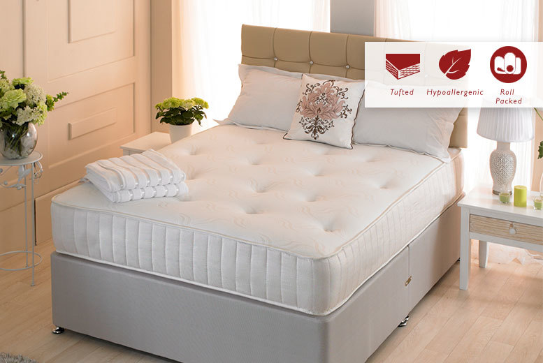 £59 instead of £399.99 (from Desire Beds) for a single Cool Blue mattress, £74 for a small double or double, £99 for a king - save up to 85%