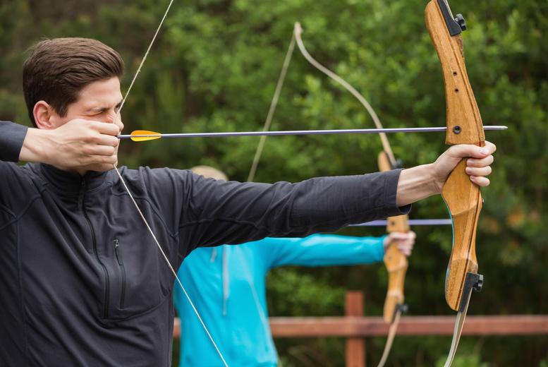 £12 for an archery experience, £19.99 inc.air rifle experience or £25 inc. axe throwing with Targeted4All Events, Bardney - save up to 52%