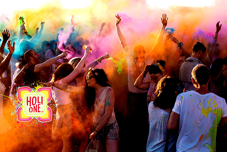 £25 for an 'Early Bird Day Pass' ticket to the HOLI ONE colour festival at the Rainbow Arena, Birmingham or £35 for an 'Early Bird Colour Day Pass'