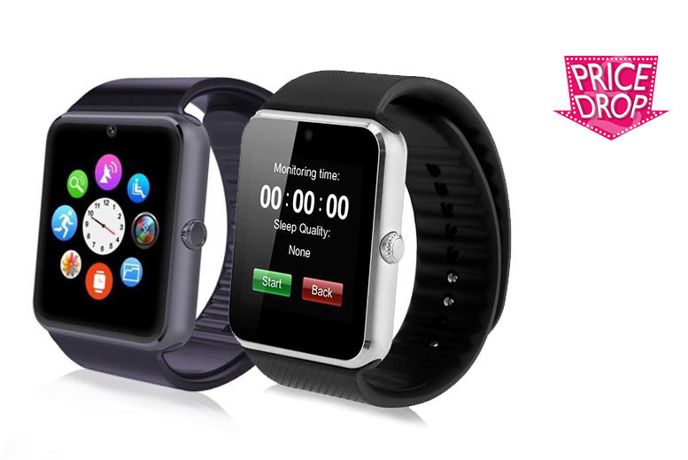 £16.99 instead of £79.99 (from Mobi Trends) for a 15in1 iTouch Bluetooth smartwatch  choose black silver or rose gold and save 79
