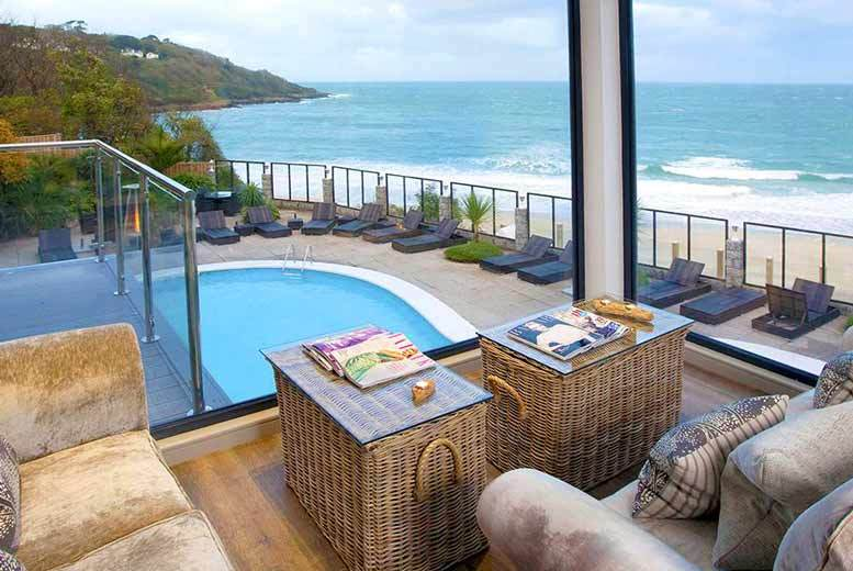 £139 (at Carbis Bay Hotel) for a luxury St Ives break for two with three-course dinner, glass of wine and breakfast, £239 for a two night stay - save up to 52%