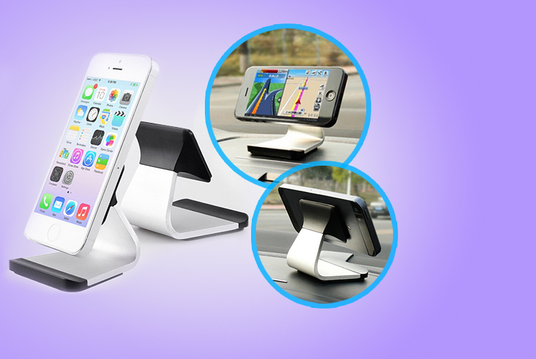 £5.99 instead of £29.99 (from Mobileheads) for a desk phone holder - save 80%
