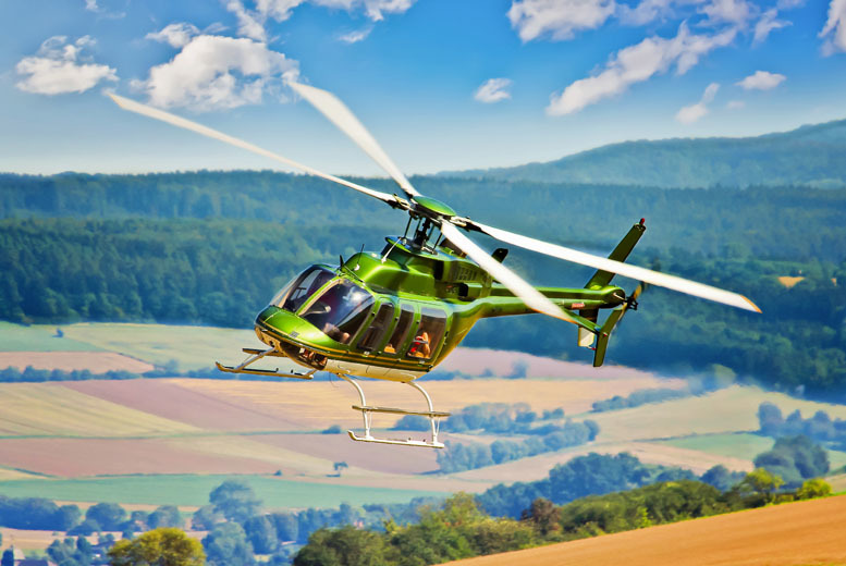 £99 instead of £199 for a 20-minute helicopter pilot experience inc. hover challenge from Buyagift - choose from 6 locations and save 50%
