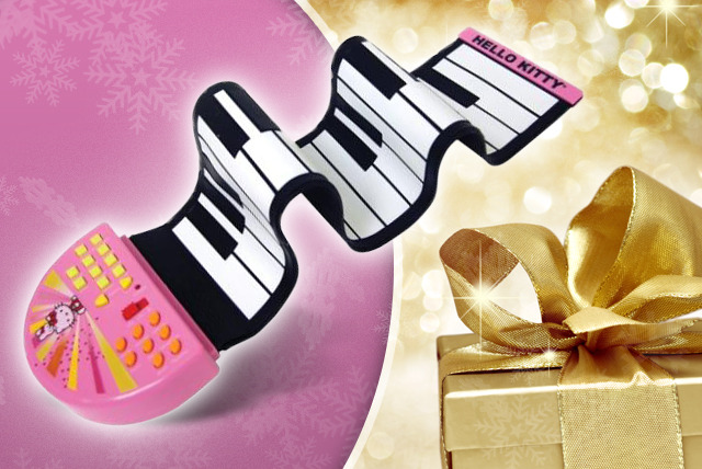 £19.99 (from Sonic UK) for a Hello Kitty Rock n' Rollin' rubber keyboard + FREE DELIVERY