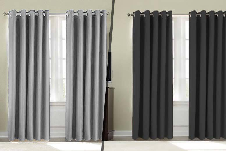 Thermal Blackout Curtains - 9 Colours and 6 Sizes!