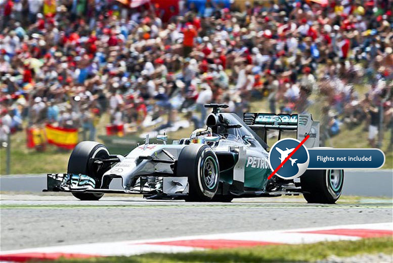 From £169pp (with World Choice Sport) for two nights, breakfast and tickets to a Formula One Grand Prix - Spain, Austria, Hungary, Belgum, Italy or Monaco!
