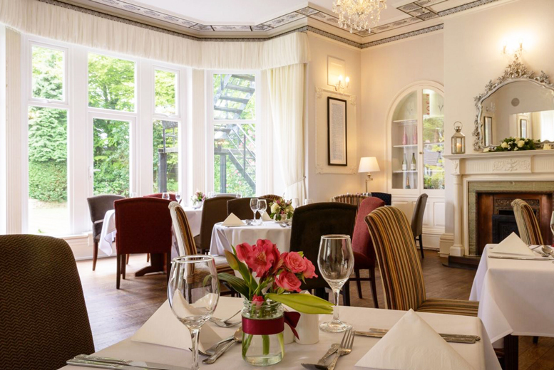 From £59 (at Durker Roods Hotel) for an overnight stay for two people including breakfast and a two-course dinner, from £99 for two nights - save up to 49%