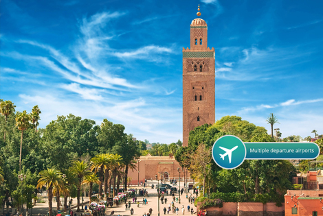 From £119pp for a two-night 4* all-inclusive Marrakech break with flights and transfers, from £179pp for three nights, from £209pp for four nights - save up to 40%