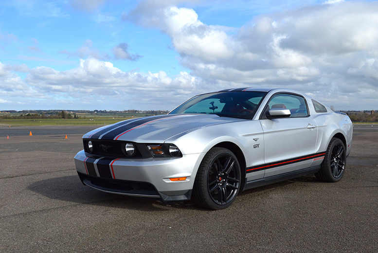 £39 instead of £149 for a weekday three-lap Ford Mustang driving experience, or £49 for a weekend experience with Supercar Test Drives, Epping - save up to 74%