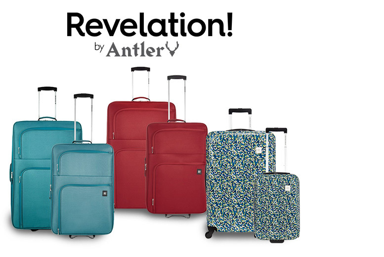 £49 instead of £112.99 (from Deals Direct) for a two-piece Revelation by Antler luggage set - choose from two different designs in one of three colours and save up to 57%