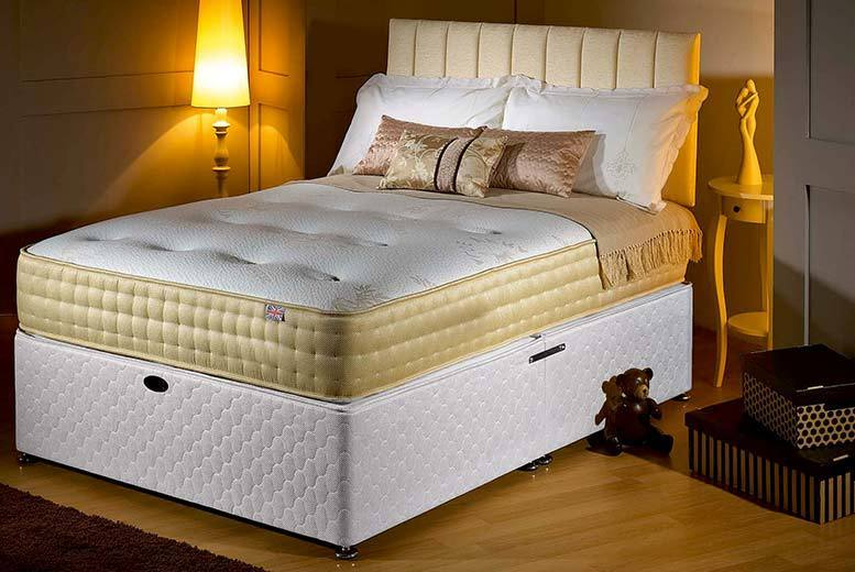£129 instead of £1279.01 (from Midnight Dreams) for a single luxury memory foam gold mattress, £169 for a small double or double, or £199 for a king - save up to 90%