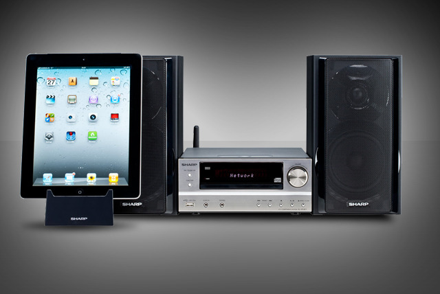 £149.99 instead of £299 (from Sharp Electronics UK) for a XL-HF401PH iPod-compatible HiFi stereo system - save 50%