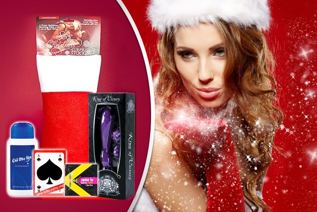£19.99 instead of £39.99 (from Tamed Life) for an Xmas stocking inc. naughty toy, massage oil & cards - add some spice & save 50%