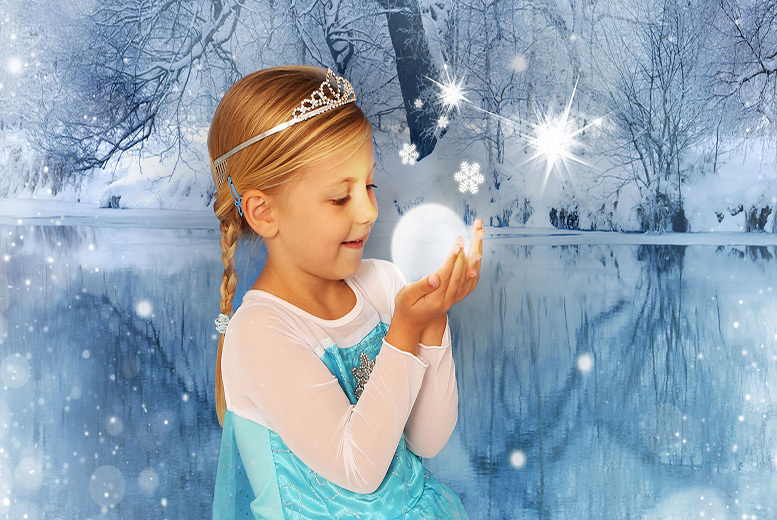 £9 instead of £64 for a Frozen-inspired photoshoot for up to 2 children inc. 2 prints of same image & goody bag each at Andreas Photography - save 86%
