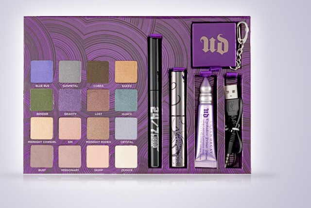 £29.99 instead of £59.99 (from Just She) for an Urban Decay make-up set inc. 16 shadows, mascara, eye liner, eye shadow primer - save 50%