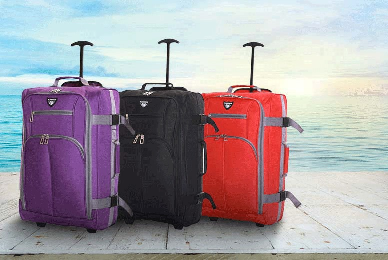 £12.99 for Slimbridge Lobos cabin-approved hand luggage - choose from three colours!