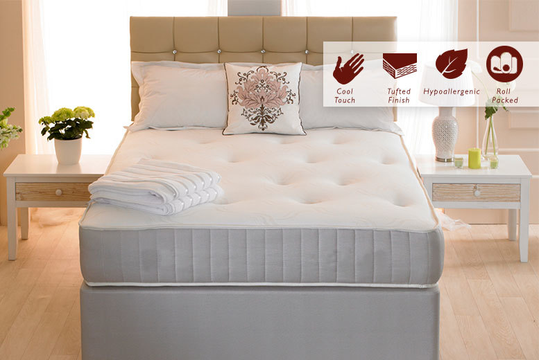 £59 instead of £390 for a single orthopaedic mattress (from Desire Beds), £69 for a small double or double, or £94 for a king-sized mattress - save up to 85%