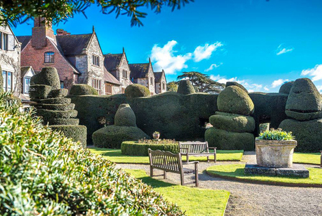 From £129 (at The Billesley Manor Hotel) for an overnight stay for two people with dinner, breakfast, wine and late check-out, from £209 for two nights - save up to 60%